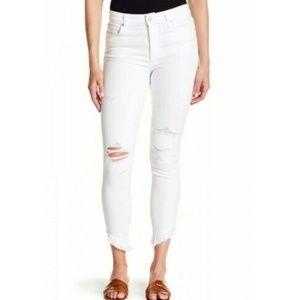 Joe's Jeans Flawless High Rise Skinny Ankle Nadeen